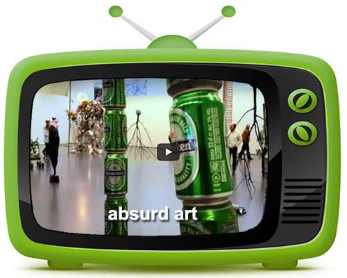 What\'s on the Telly-Absurd Art